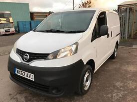 2012 62 Nissan NV200 SE DCI VAN WHITE 1.5 Diesel *NO VAT*