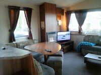 8 berth willerby rio deluxe plus caravan at haggerston castle for hire