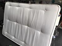 Free double mattress - used but clean