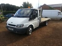 2001 ford transit recovery truck