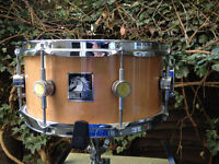 White Horse 'Legend' Maple Snare 14 x 6.5 - Immaculate condition