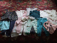NEW Baby girl bundle of clothes 3 month to 1,5 year