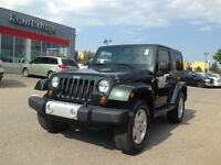 2011 Jeep Wrangler Sahara-LEATHER HEATED SEATS