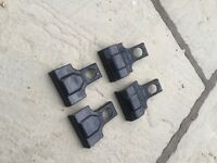 Thule fitting kit 1278 with rubber feet