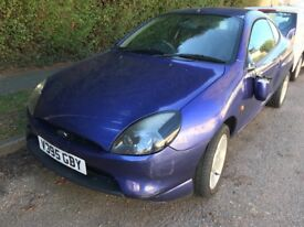 Ford Puma 1.7 16V 1679cc Petrol 5 Speed manual 3 door hatchback V Reg 27/09/1999 Blue