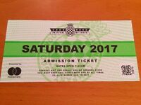 Goodwood Festival of speed - Saturday, General Admission, One Ticket