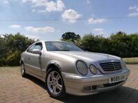 For sale Mercedes CLK200 2.0L Petrol. MOT MAY 2019