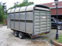 Bateson LT60 Cattle Trailer 3.5Ton Detachable top, Price is + VAT