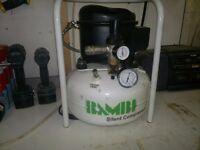 Bambi silent compressor 8 litre , 8 bar