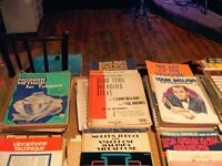 DRUM AND DRUMMING MUSIC, SNARE DRUM MUSIC & INSTRUCTION BOOKS INC. A LARGE SELECTION OF TUTOR BOOKS