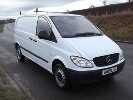 2009 Mercedes Vito 109 CDi Compact Panel Van