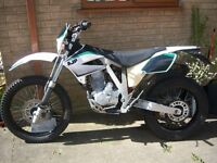 AJP PR3 Ultrapasser 200cc Motorcycle - 2012 Reg. Plate - Good running order .