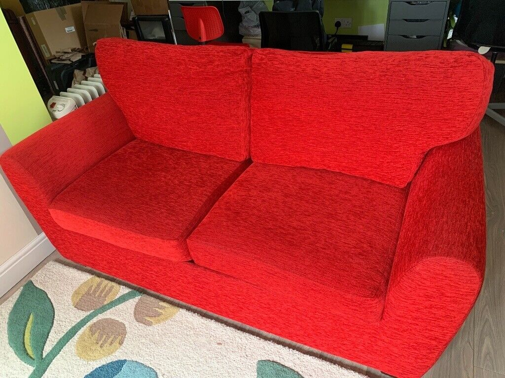 Red Sofa Bed In Mangotsfield Bristol