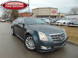 2011 Cadillac CTS CLEAN CARPROOF-P.SUNROOF-2DR