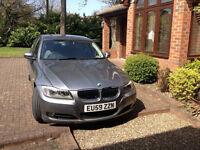 BMW 3 SERIES E90 Auto, Space Grey, 32K miles, Dakota Leather seats