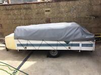 Trigano 4 berth trailer tent