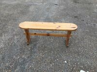 4ft wooden bench