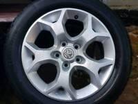 "Vauxhall Snow Flake 16"" Alloys"