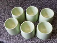 1960/1970 retro egg cups