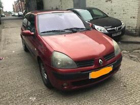 2004 Renault Clio 1.4 Petrol Breaking 3 Door Orange Headlight Windscreen Tyre Alloy Bumper