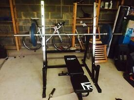 Mira Fit Weights Bench and Platform.
