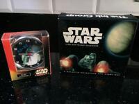 Brand-new Star Wars calendar & clock