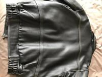 Triumph casual leather jacket - LARGE