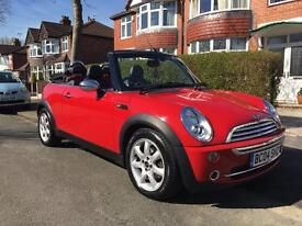 BMW Mini One Convertible loads of History, Extras and Sat Nav