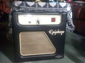 Epiphone valve junior combo bass/guitar amp