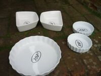 Various Aga dishware - Never used