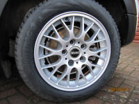 Winter Tyres on BMW Alloy Wheels.