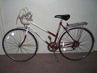 "Classic/Vintage/Retro Raleigh Cascade 20"" Racing/Road Bike (BRAND NEW tyres)(will deliver)"