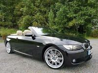 SORRY NOW SOLD!! BMW 335i M Sport 308 BHP Auto (PADDLE SHIFT) Convertible