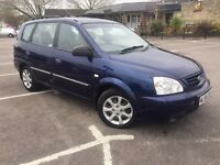 2007 Kia Carens, long MOT, nice family car!