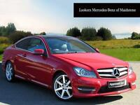 Mercedes-Benz C Class C250 CDI AMG SPORT EDITION PREMIUM PLUS (red) 2015-03-30