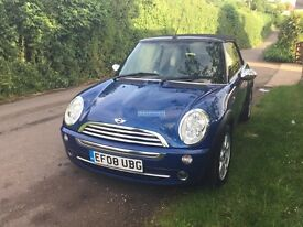 Mini One Convertible Low Miles One Previous Owner From New
