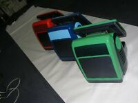 3 x colourful epos till system with full software, matching printer and scanner