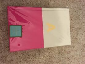 Kate Spade initial (A) notebook