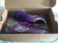 New in box Umbro football boots