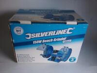 New boxed bench grinder £24