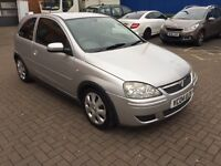 2004 VAUXHALL CORSA 1.2, LOW MILEAGE, 88K WITH FSH, 3 OWNERS, 1YR MOT, BARGAIN £630