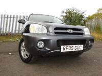 05 HYUNDAI SANTA FAE 2.0 CRTD DIESEL 4X4,MOT FEB 018,FULL HISTORY,2 KEYS,2 OWNERS,RELIABLE 4X4