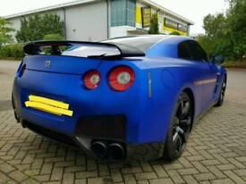 Nissan GT-R (GTR), Matt Chrome Blue, 650+bhp super car, low mileage & owners