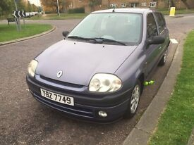 Renault Clio 1.2**Warranted Mileage**Service History*Fresh M.O.T**1 Owner*Only £599*REDUCED TO CLEAR