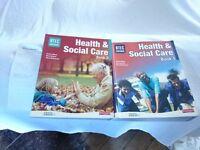 BTEC Health & social care books