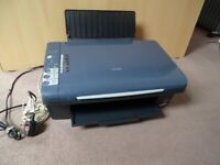 Epson Stylus DX4400 All-in-One Printer / Scanner / Photocopier - Colour / Black- Barely Used