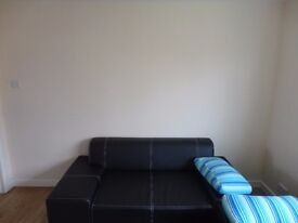 3 SEAT + 2 SEAT LEATHER SOFA