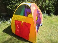 Childrens pop-up play tent (ELC )
