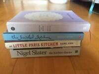 4 x cookery books