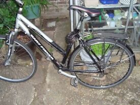 Woman's Gary Fisher Hybrid, 24 Gears, Lightweight town bike, good condition, working well.